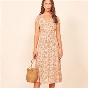 Reformation Denise Button Up Dress